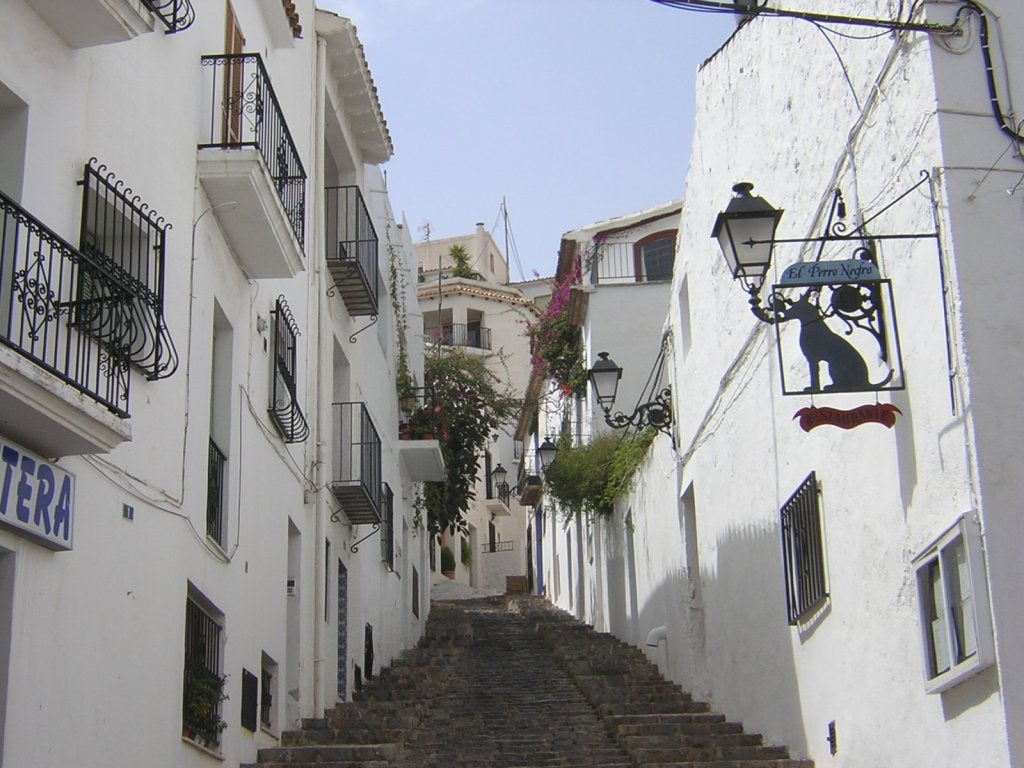 Barrio en Altea