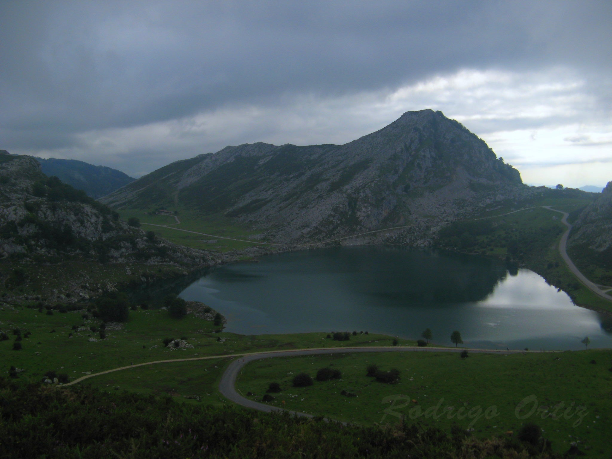 Mountain in The Lakes of Covadonga - Enol and Ercina lakes