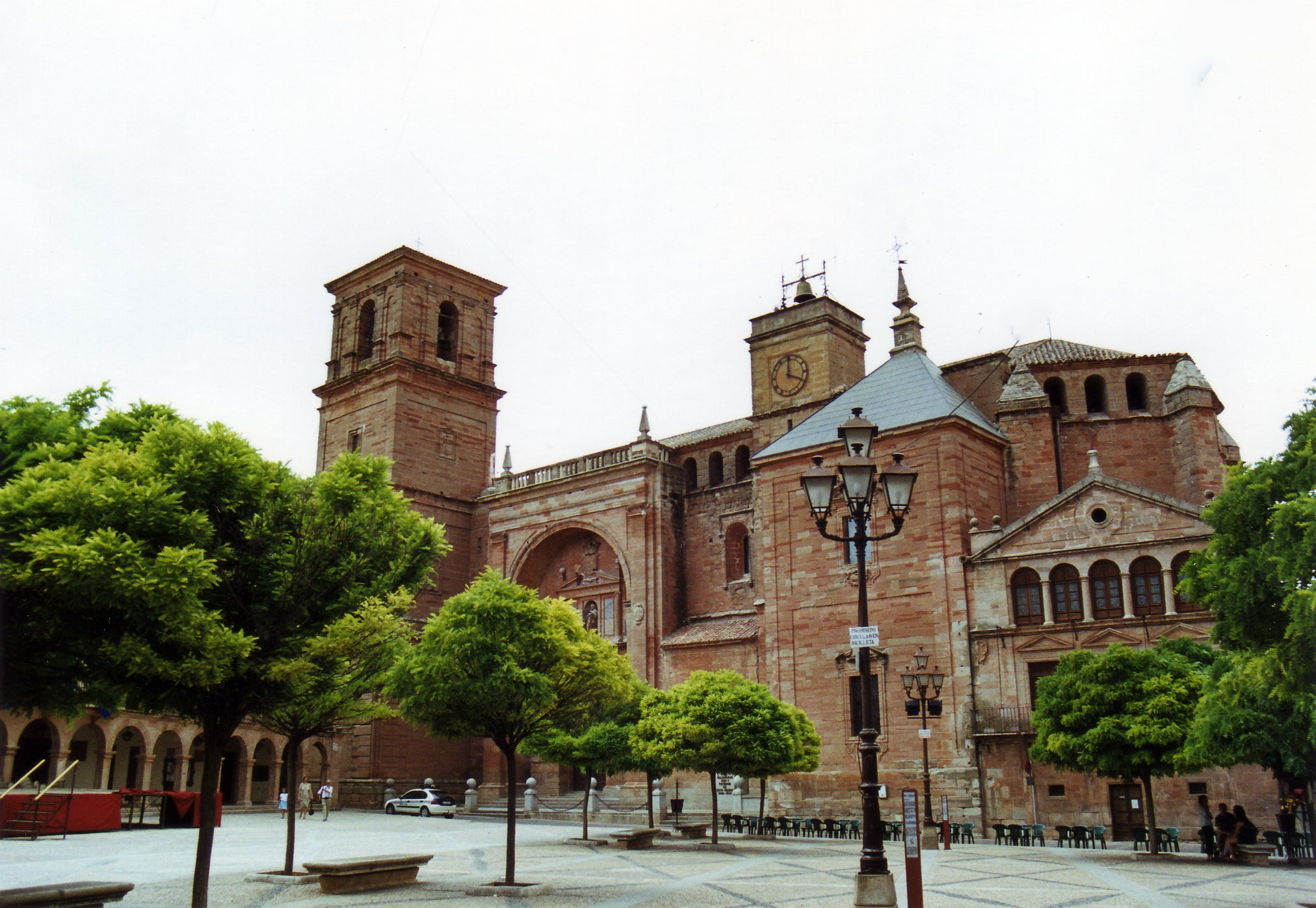 Plaza Mayor de Villanueva de los Infantes