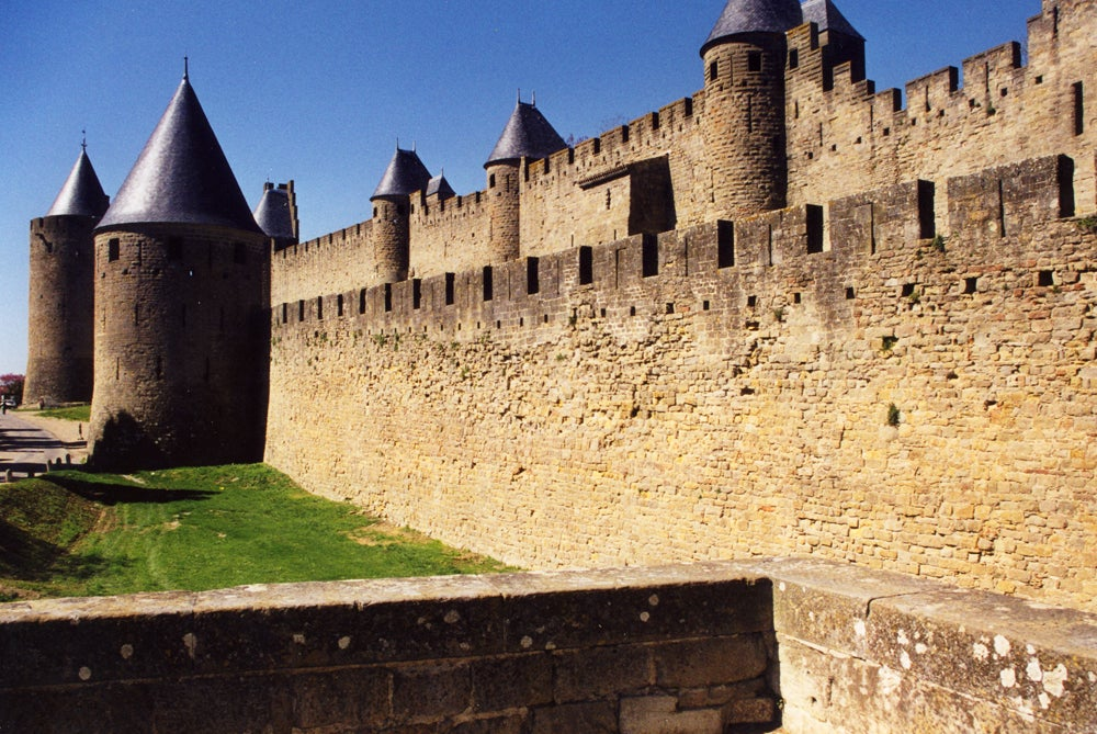 Pared en Carcassone