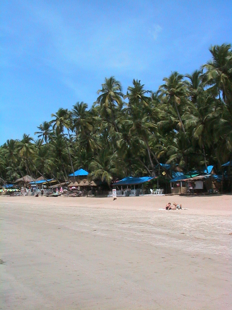 Plaza en Playa de Goa