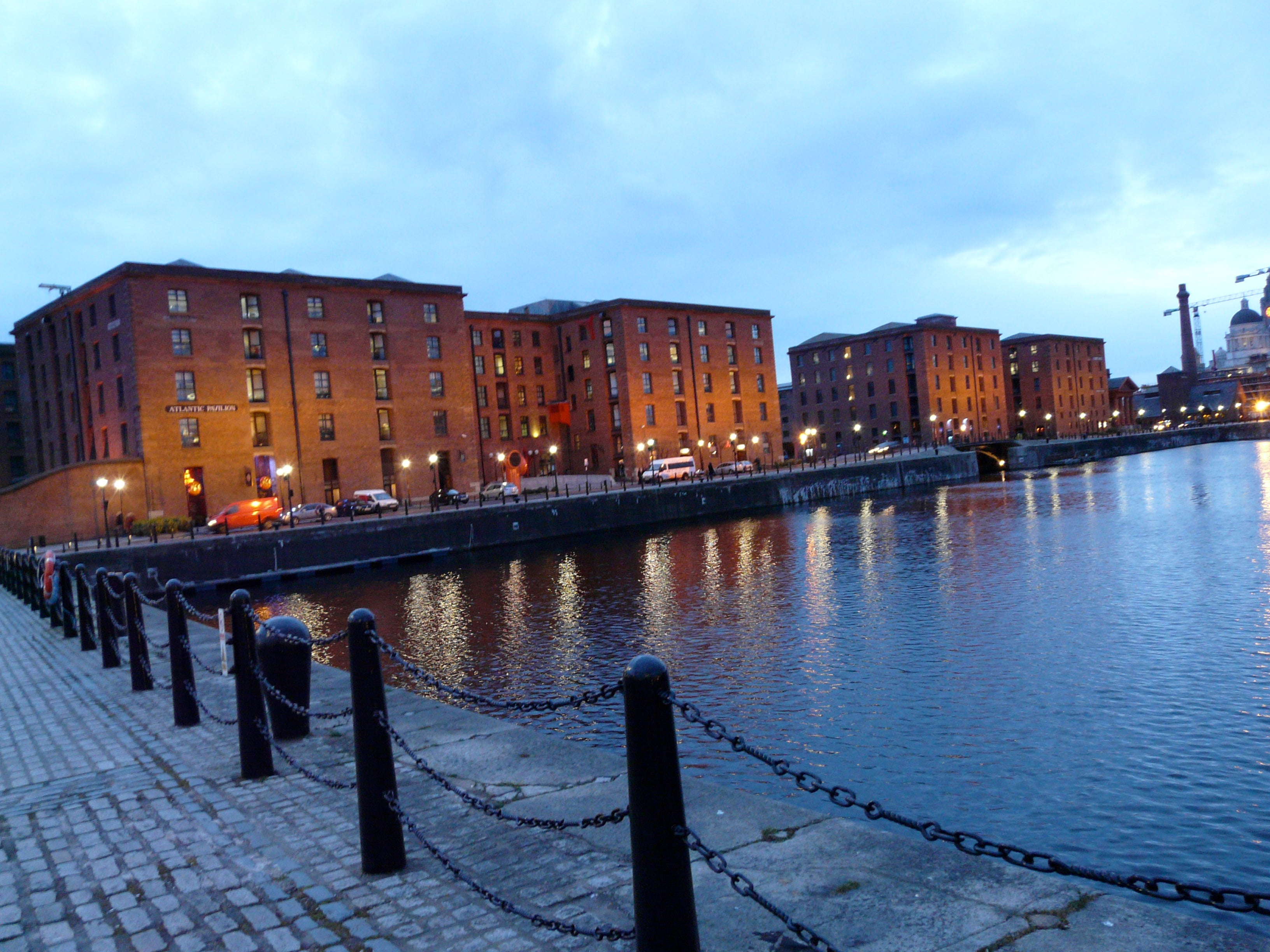 Reflejo en Royal Albert Dock