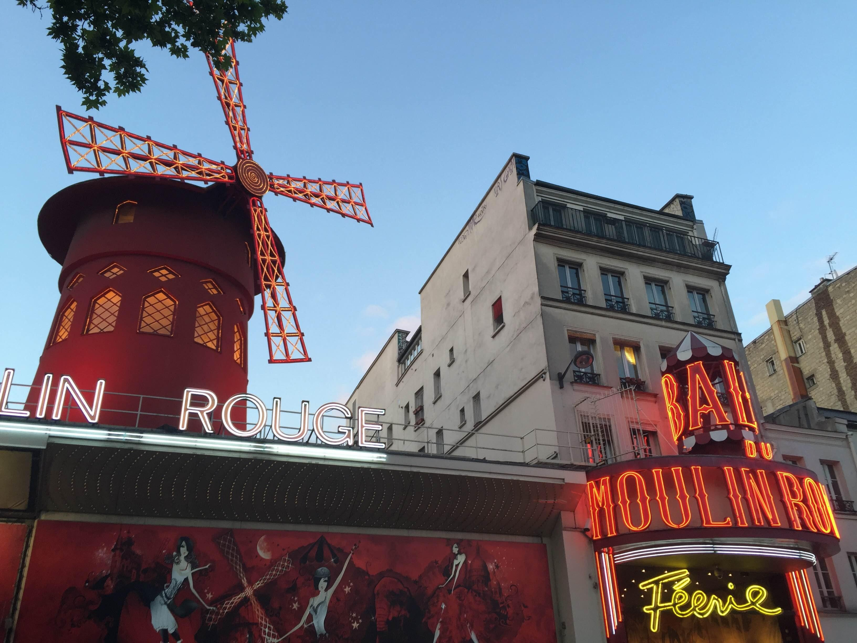 Templo en Moulin Rouge