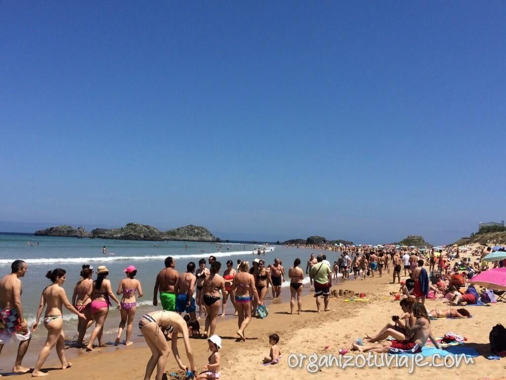 Spring break en Playa de Ris