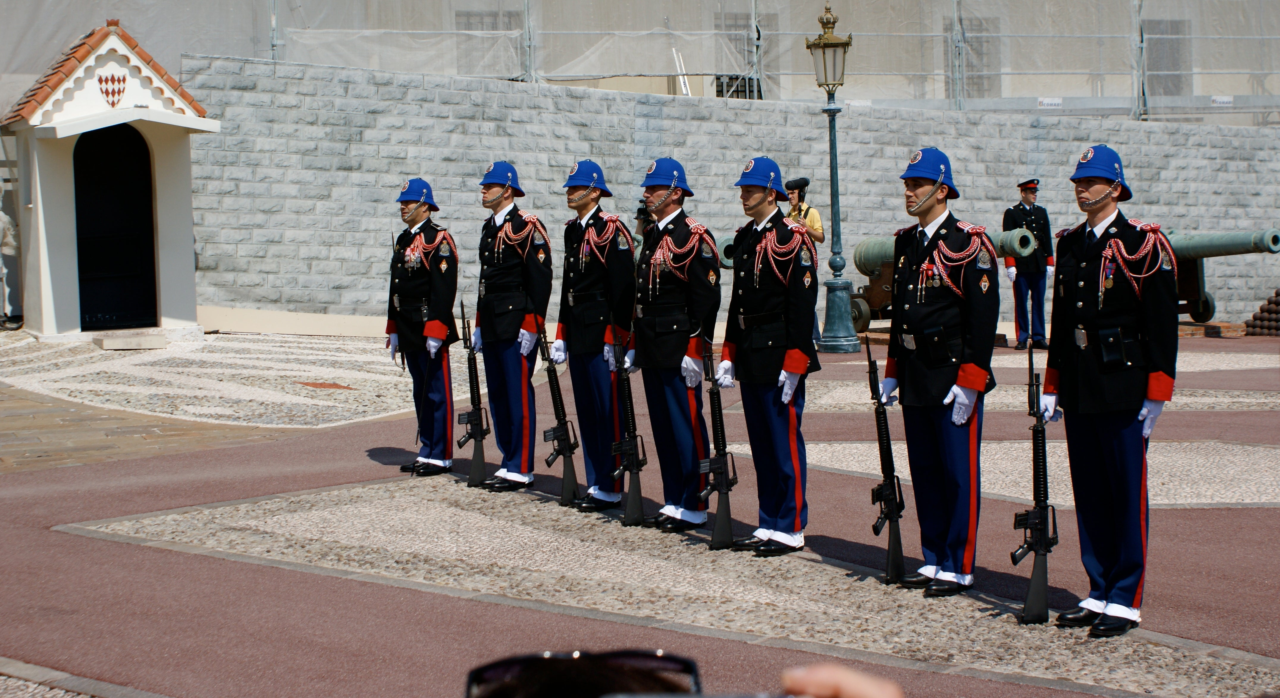 CHanging of the Guard in the Palace