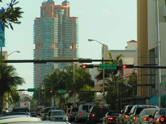 Centro de la ciudad en South Beach