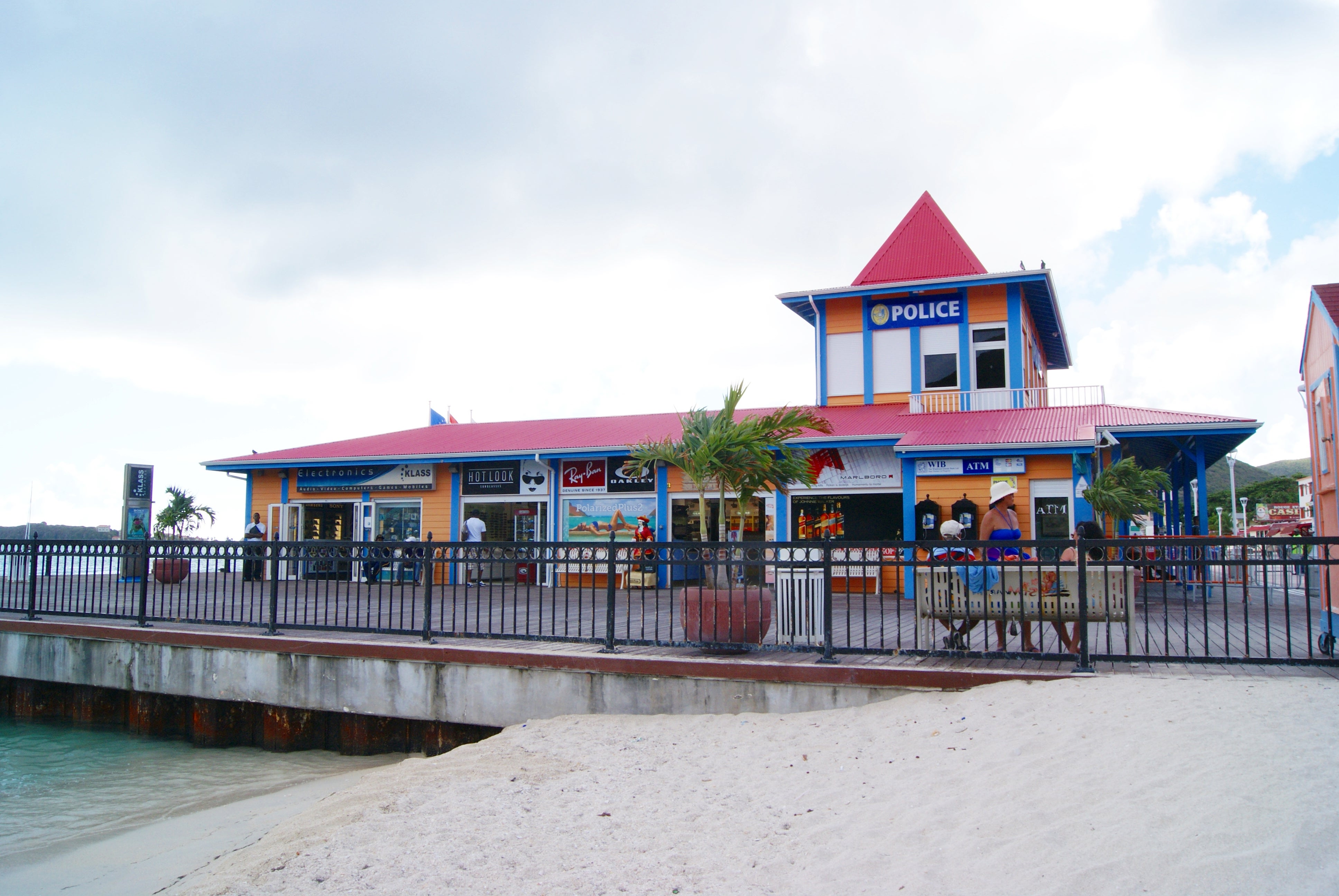 Restaurante en Great Bay Beach