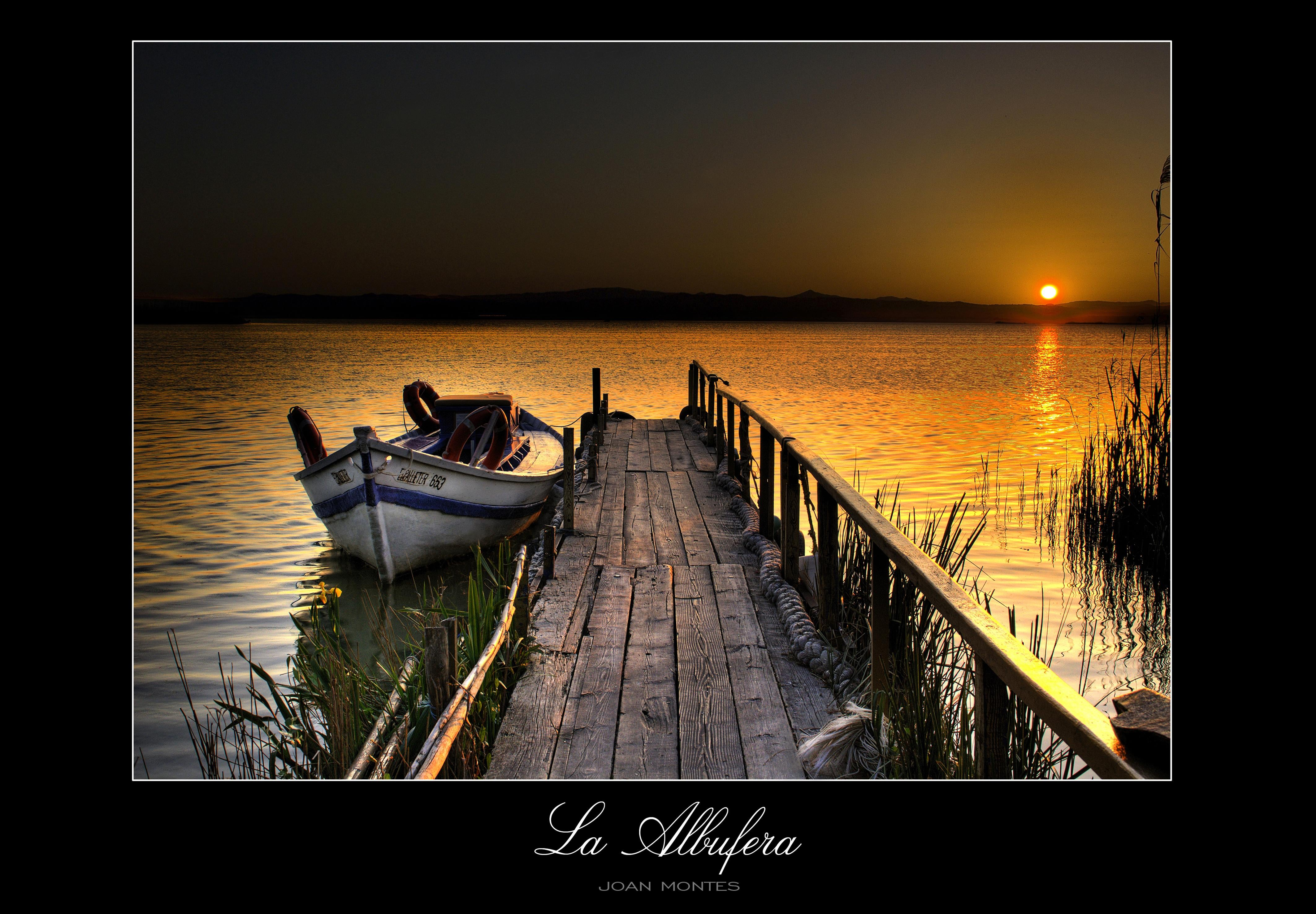 photomontage in Albufera Natural Park