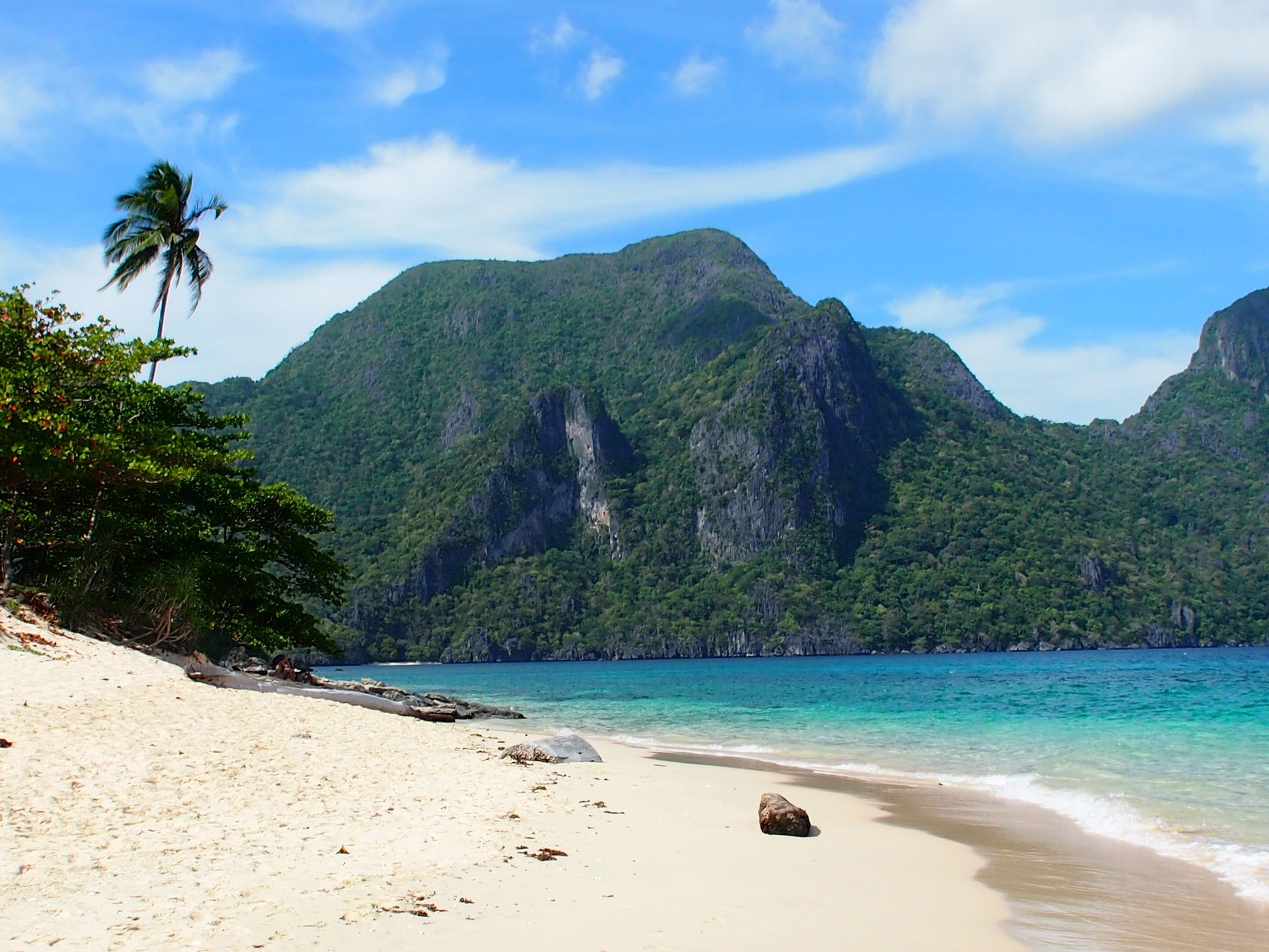 Playa en El Nido Tour C