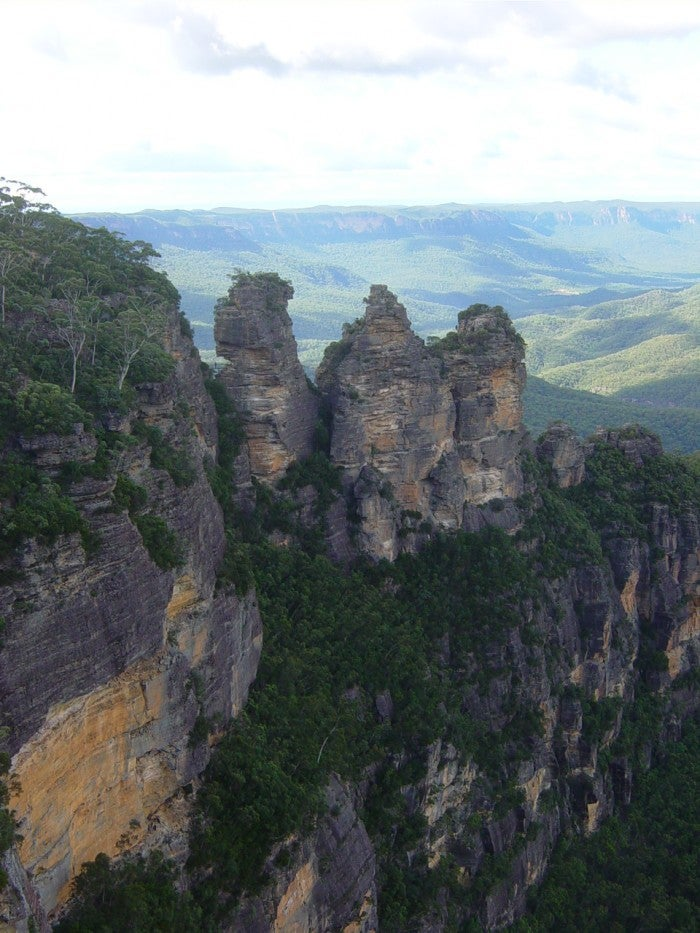 Montaña en Parque nacional Blue Mountains
