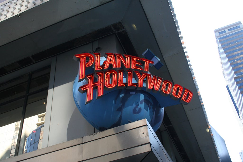 Señal en Planet Hollywood