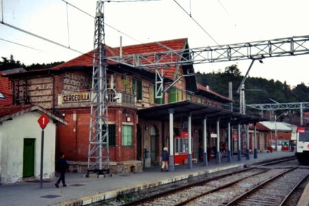 Cercedilla Train Station