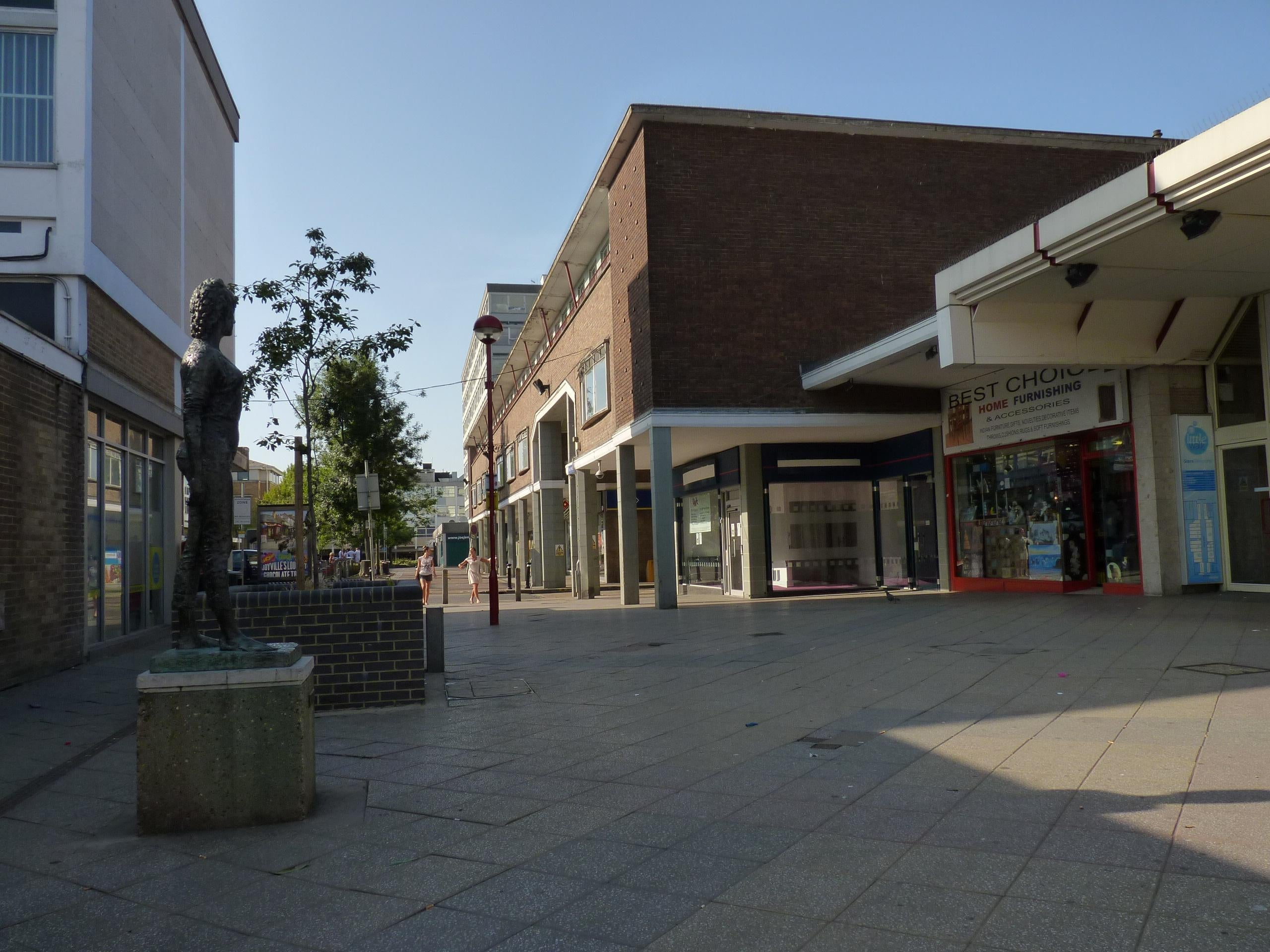 The Harvey Shopping Centre Harlow