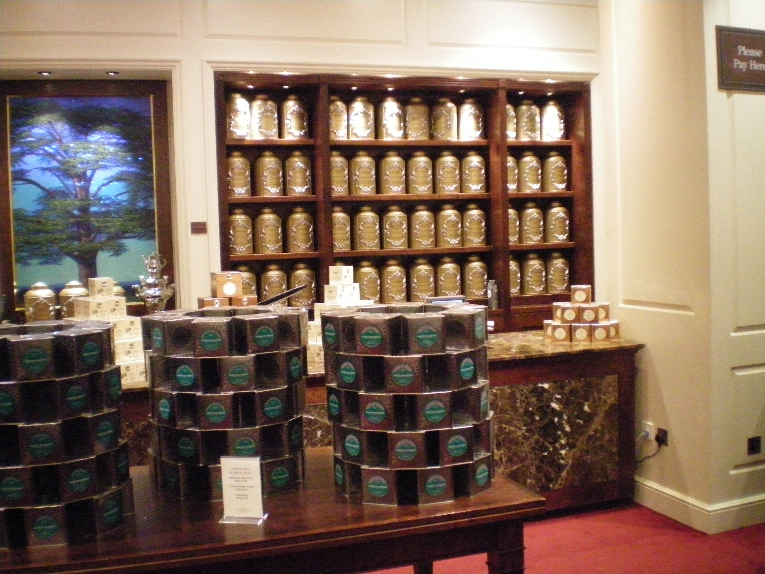 Mueble en Fortnum and Mason