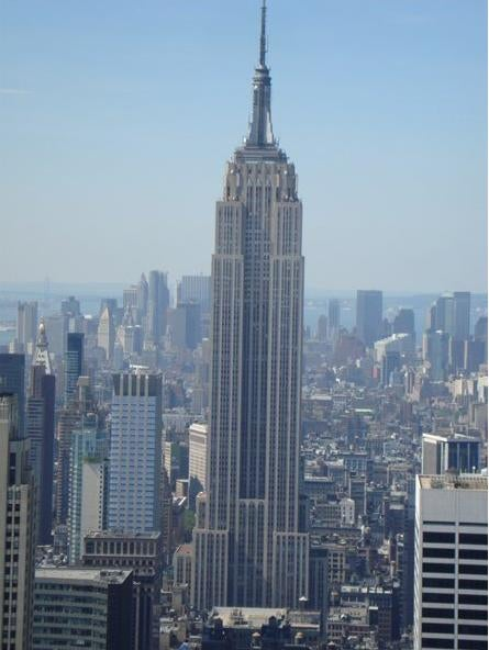 Horizonte en Empire State Building