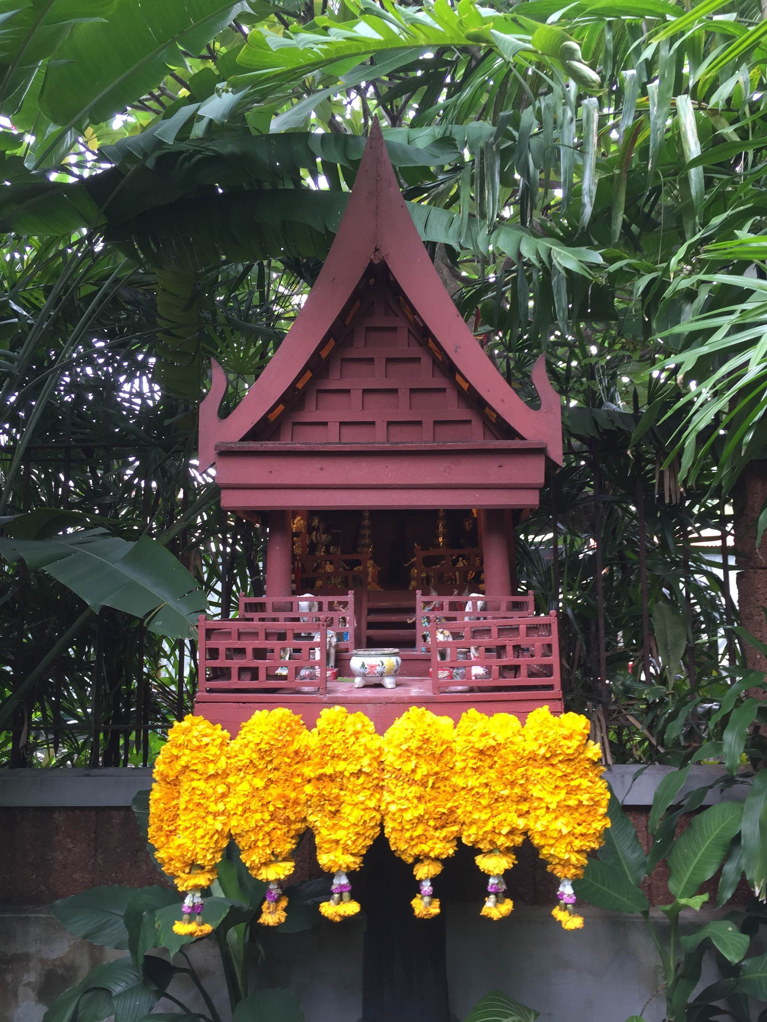 Gazebo en Casa de Jim Thompson