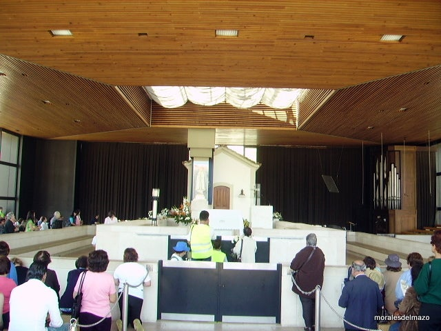 Room in Basilica of Our Lady of the Rosary of Fatima