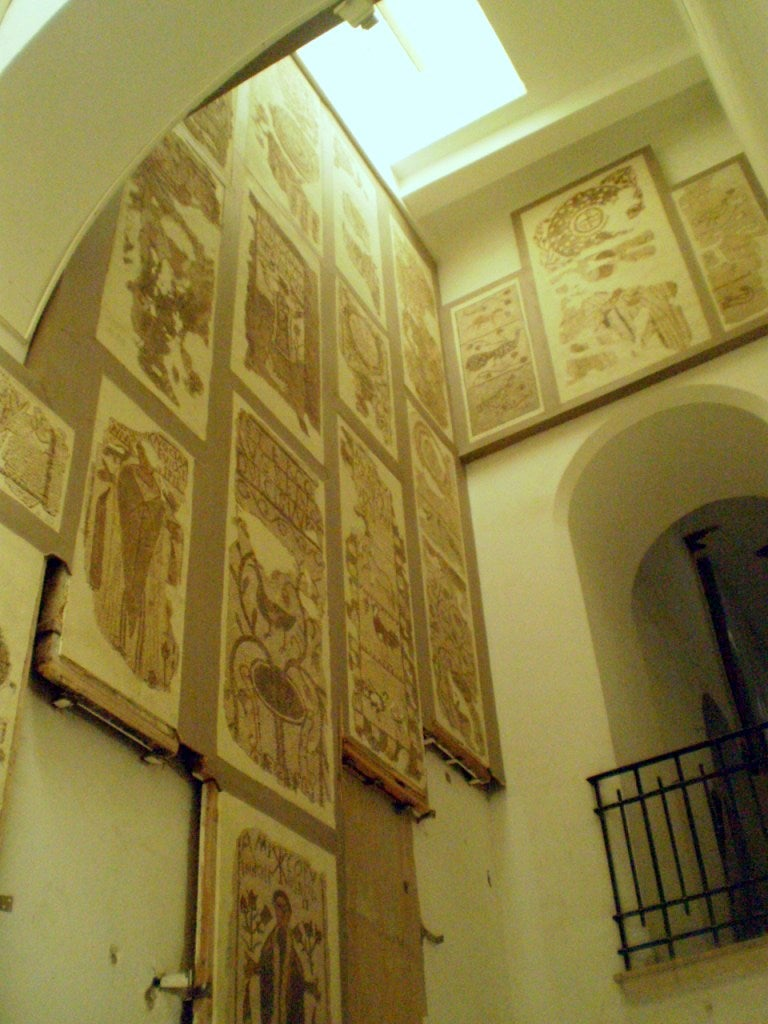Pared en Museo del Bardo