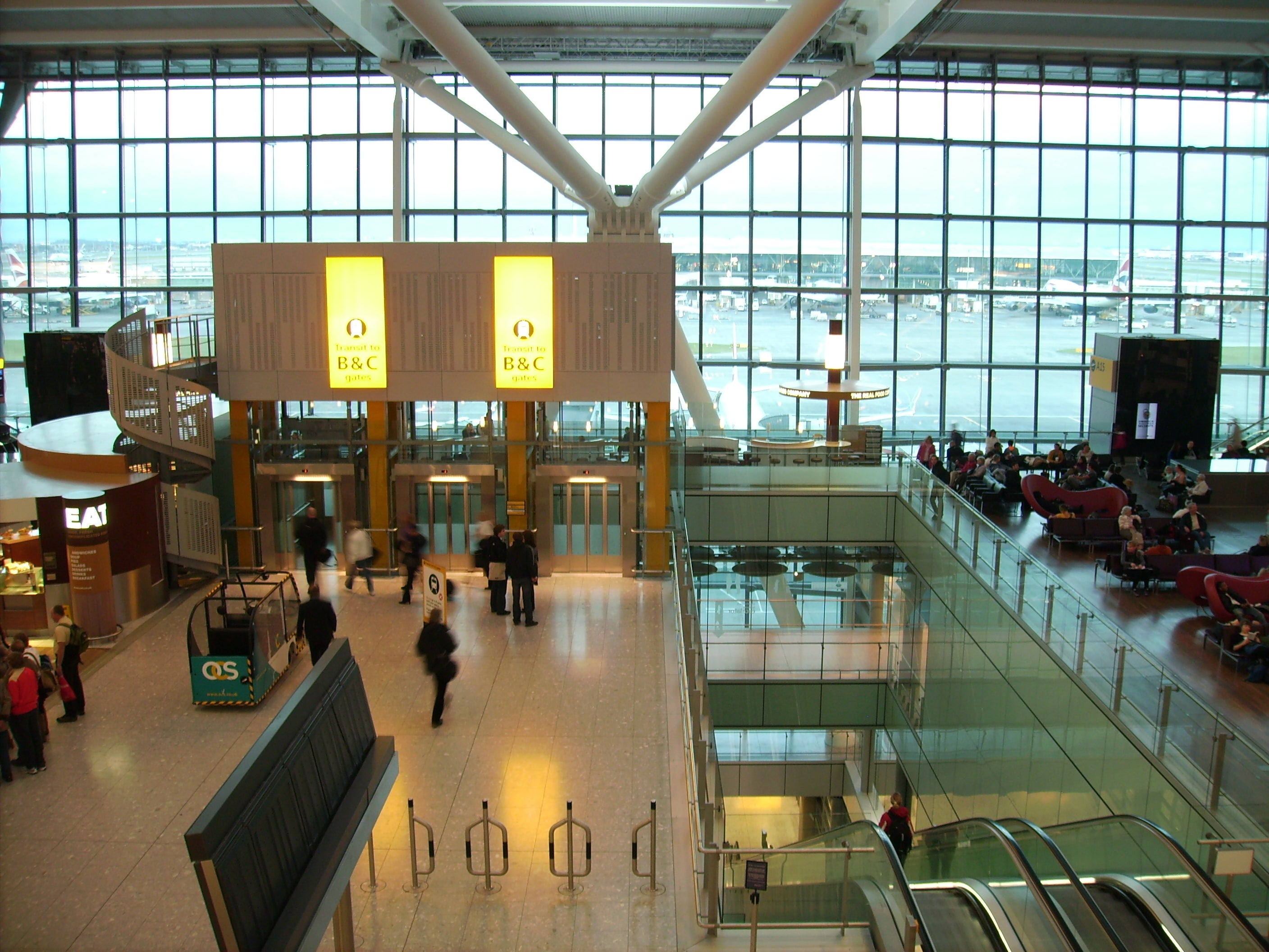 Turismo en Aeropuerto de Londres - Heathrow