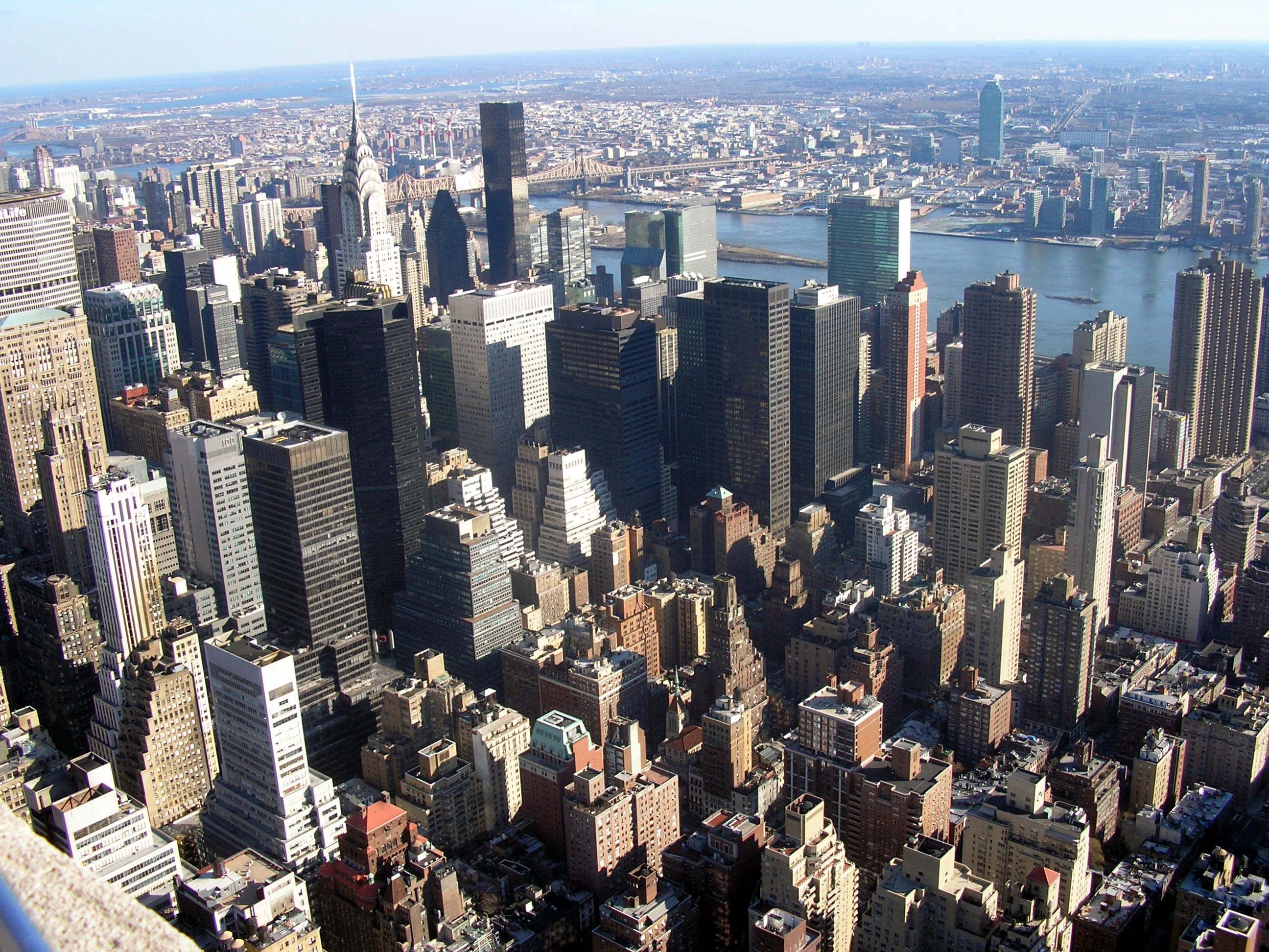 Skyline en Empire State Building