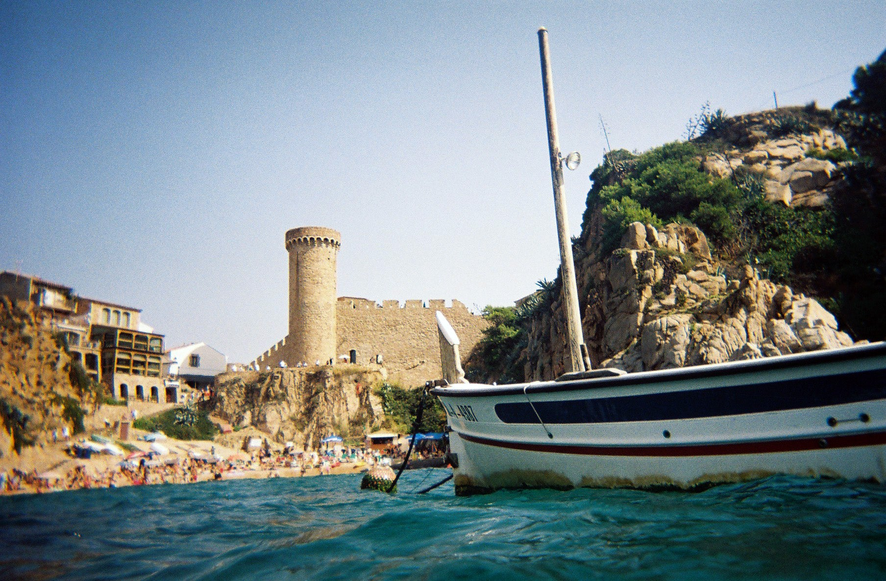 The Castle of Tossa de Mar