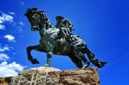 Equestrian Monument to Alfonso VIII