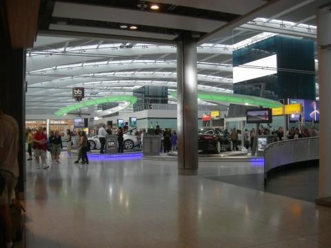 Plaza en Aeropuerto de Londres - Heathrow