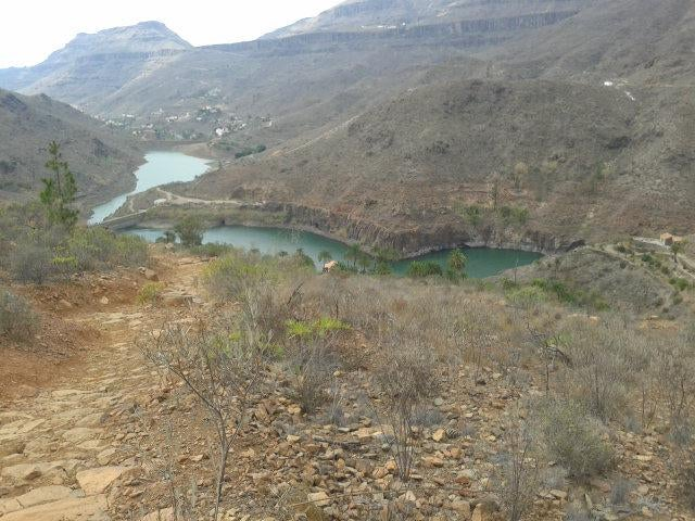 Lake in Transgrancanaria 2016 - 125 kms