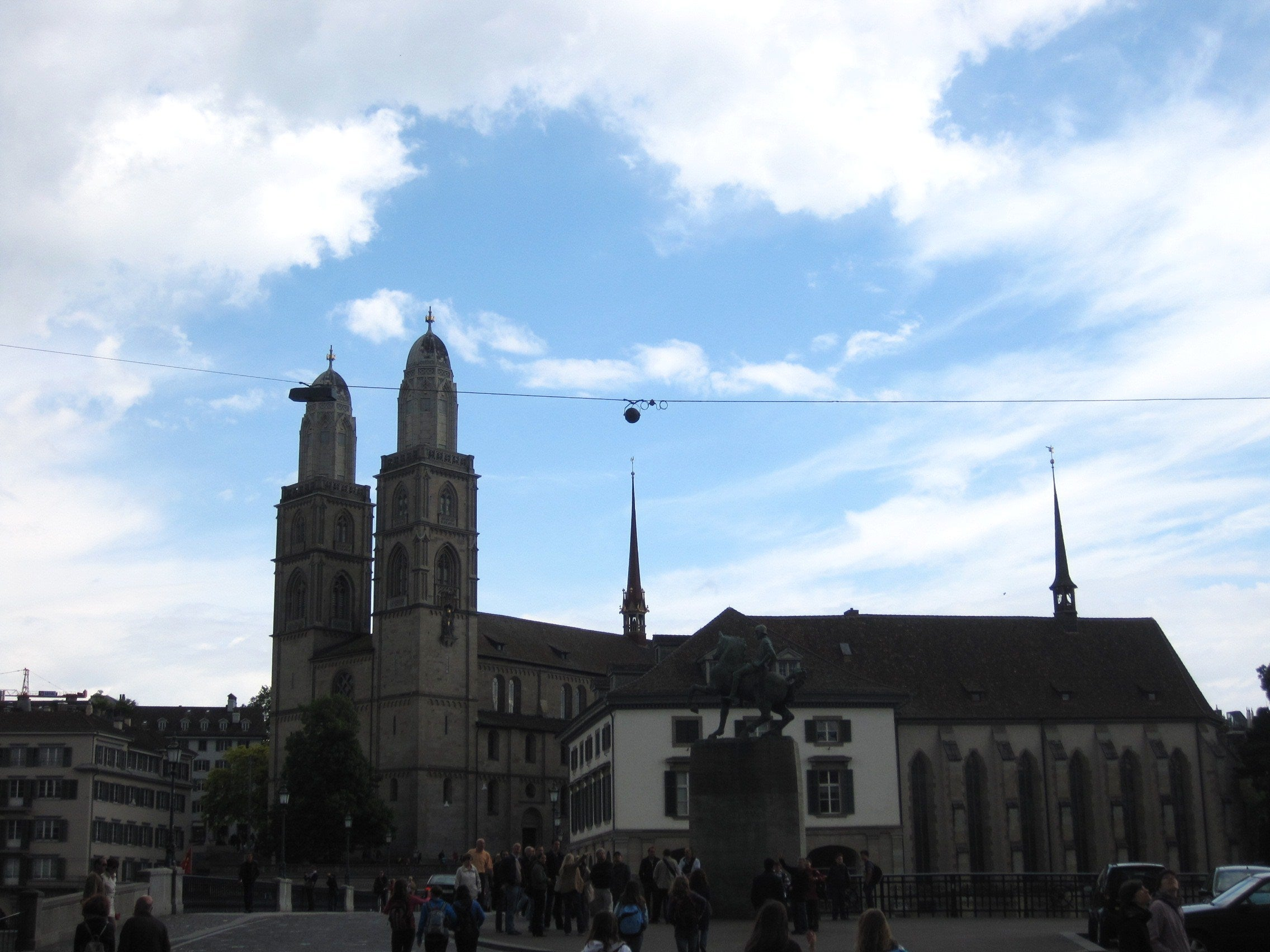 Skyline en Grossmünster