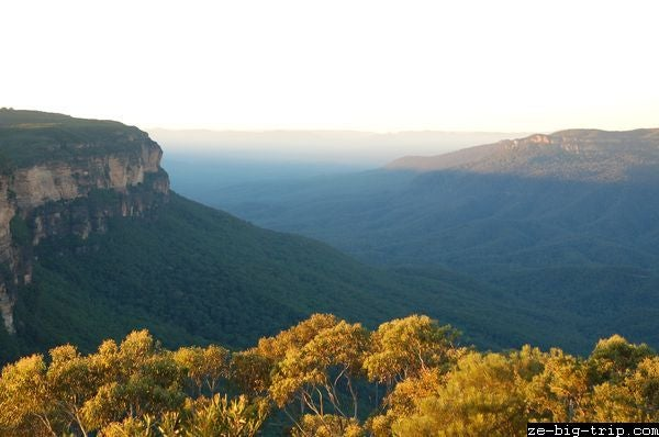 Costa en Parque nacional Blue Mountains