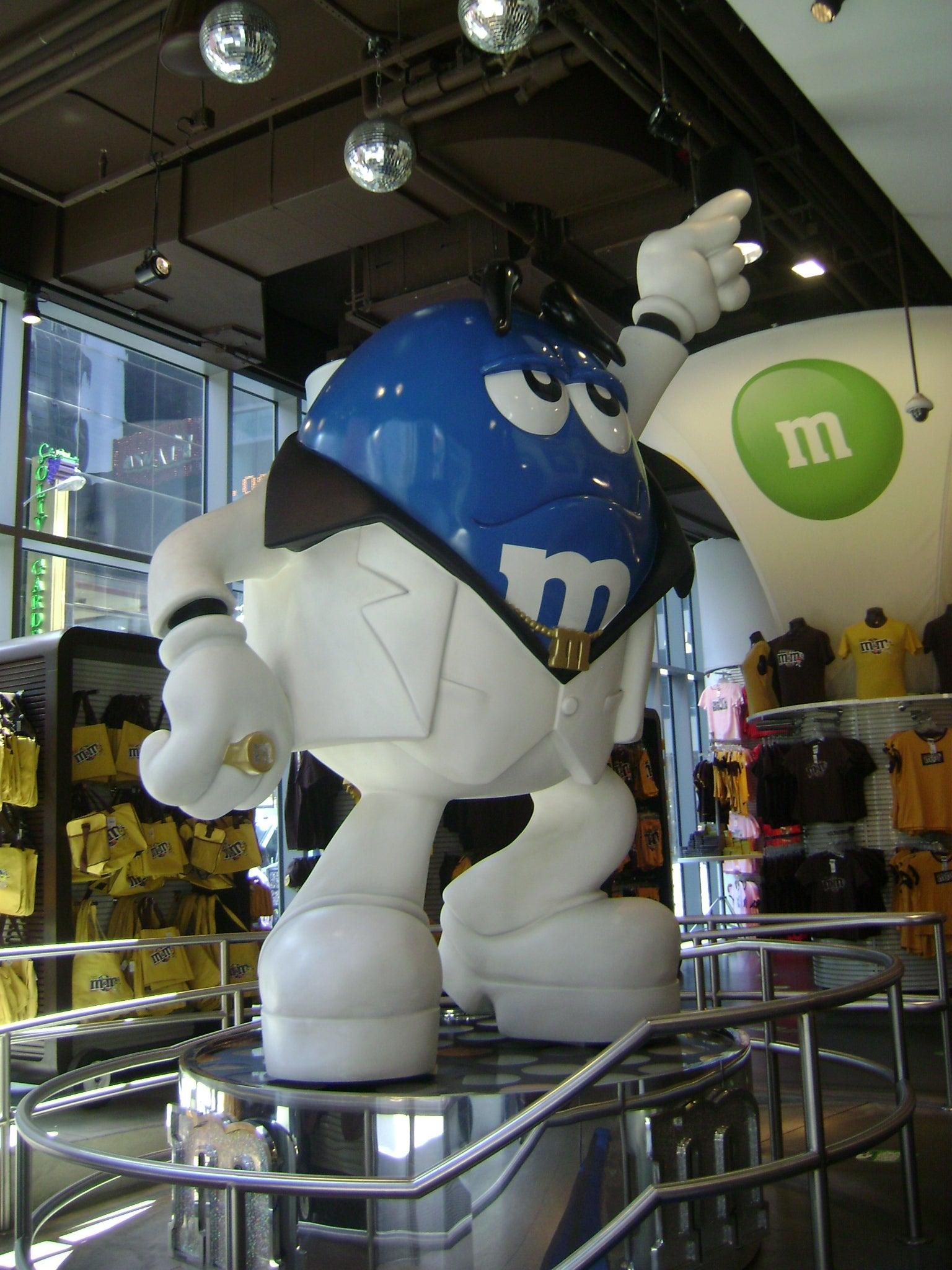 Blanco en M&M'S World