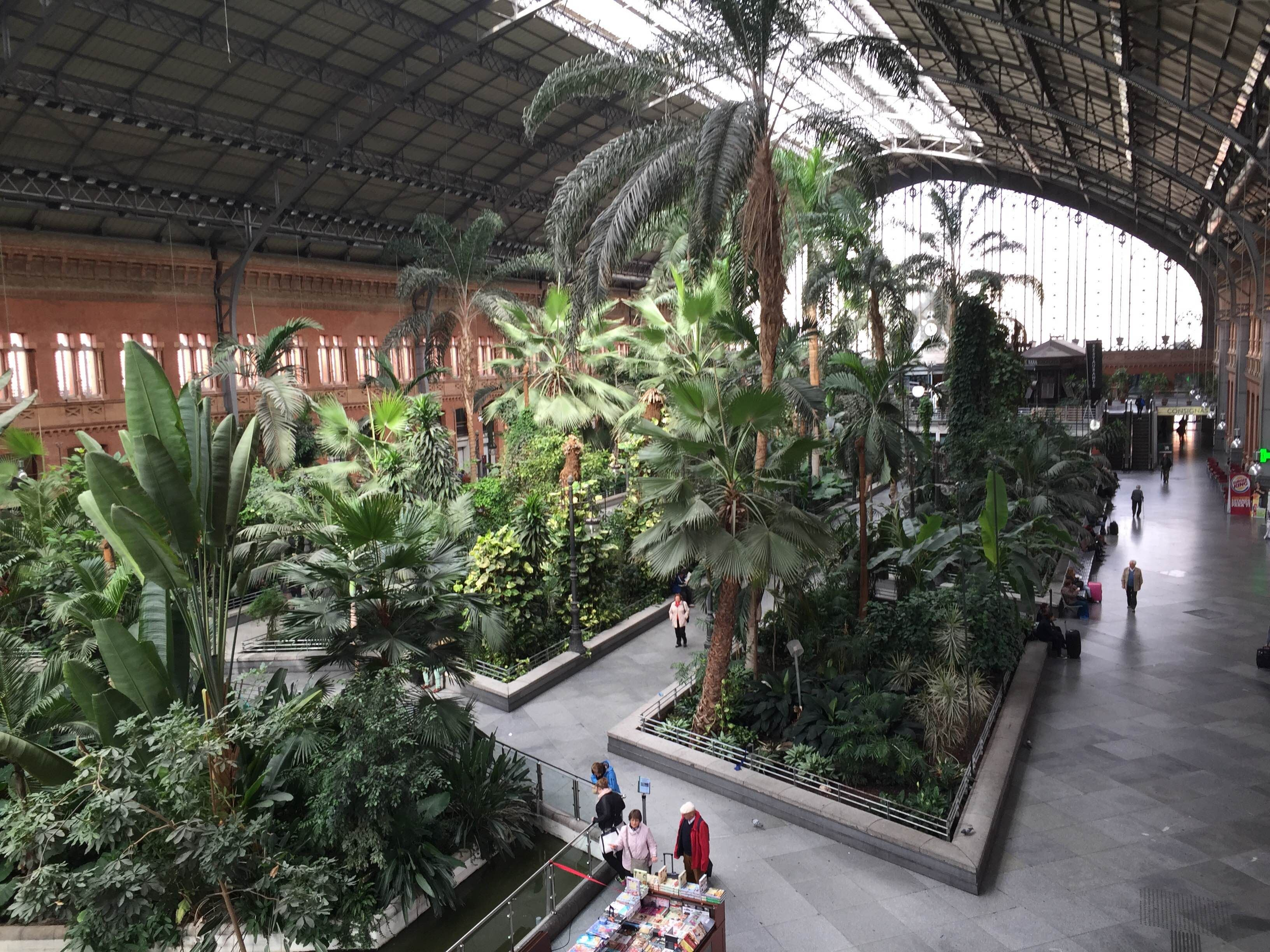 Patio en Estación de Atocha