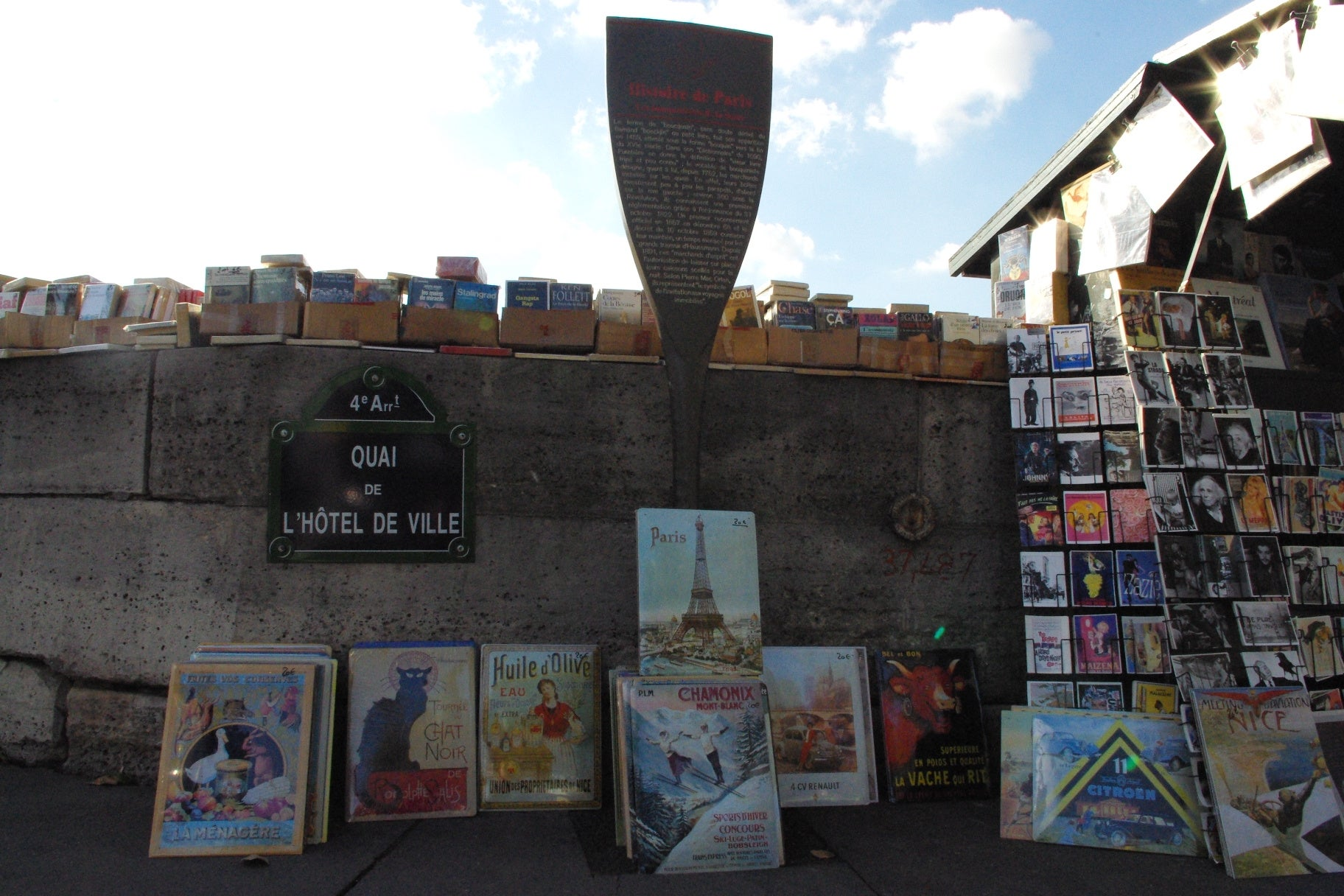 Pared en Bouquinistes de Paris