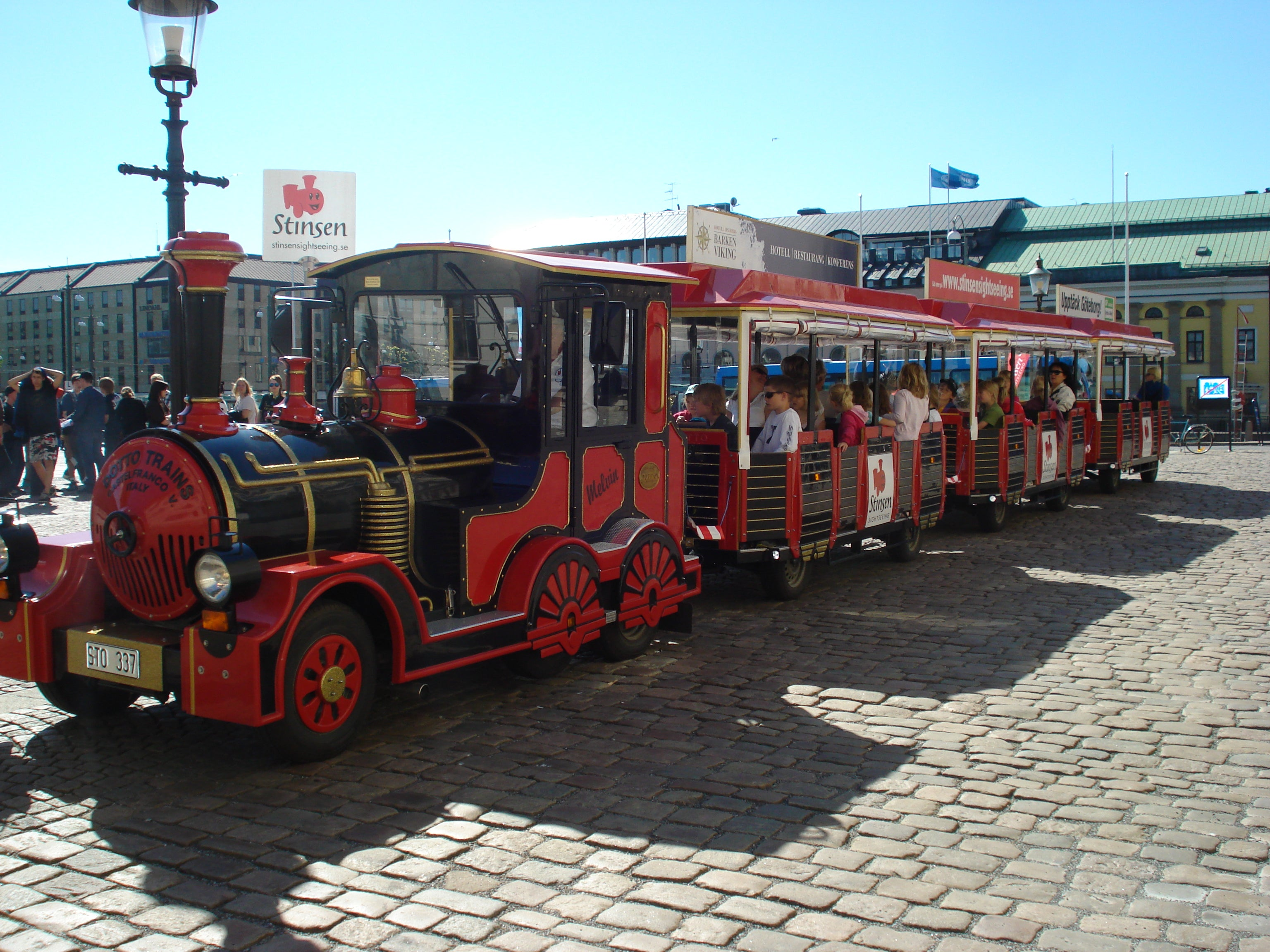 Stinsen Sightseeing Train