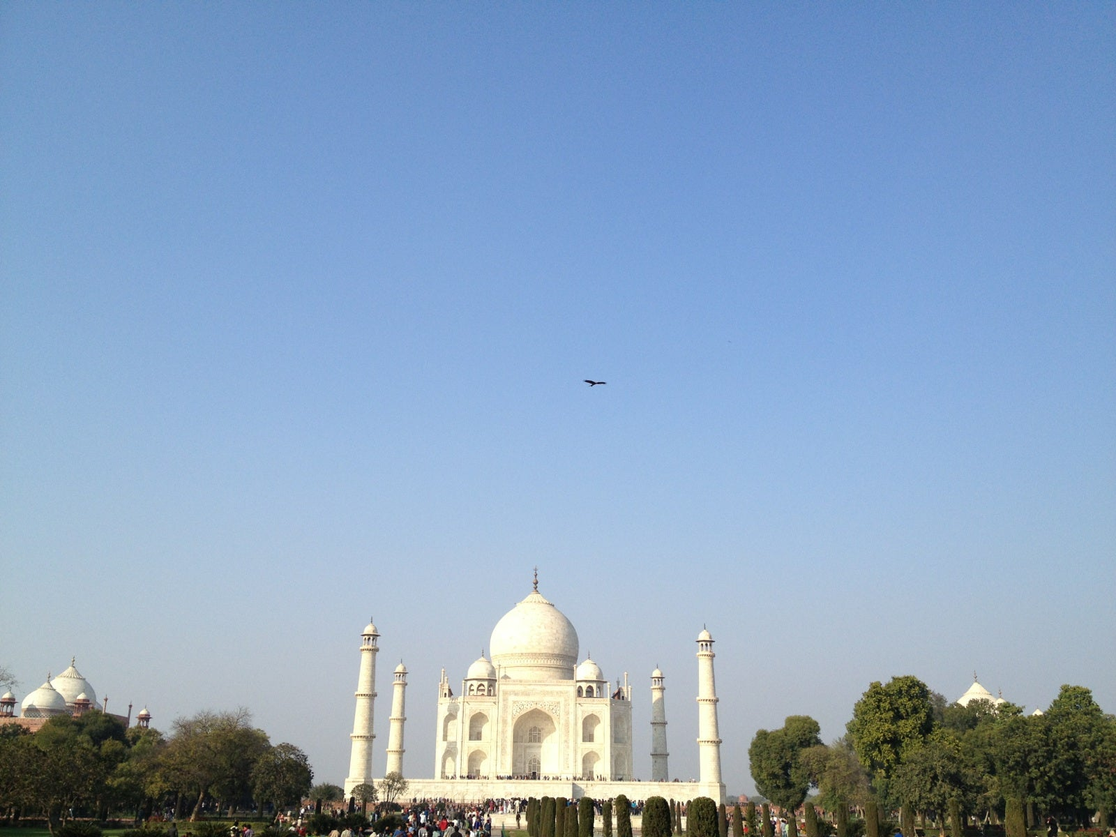 Skyline en Taj Mahal