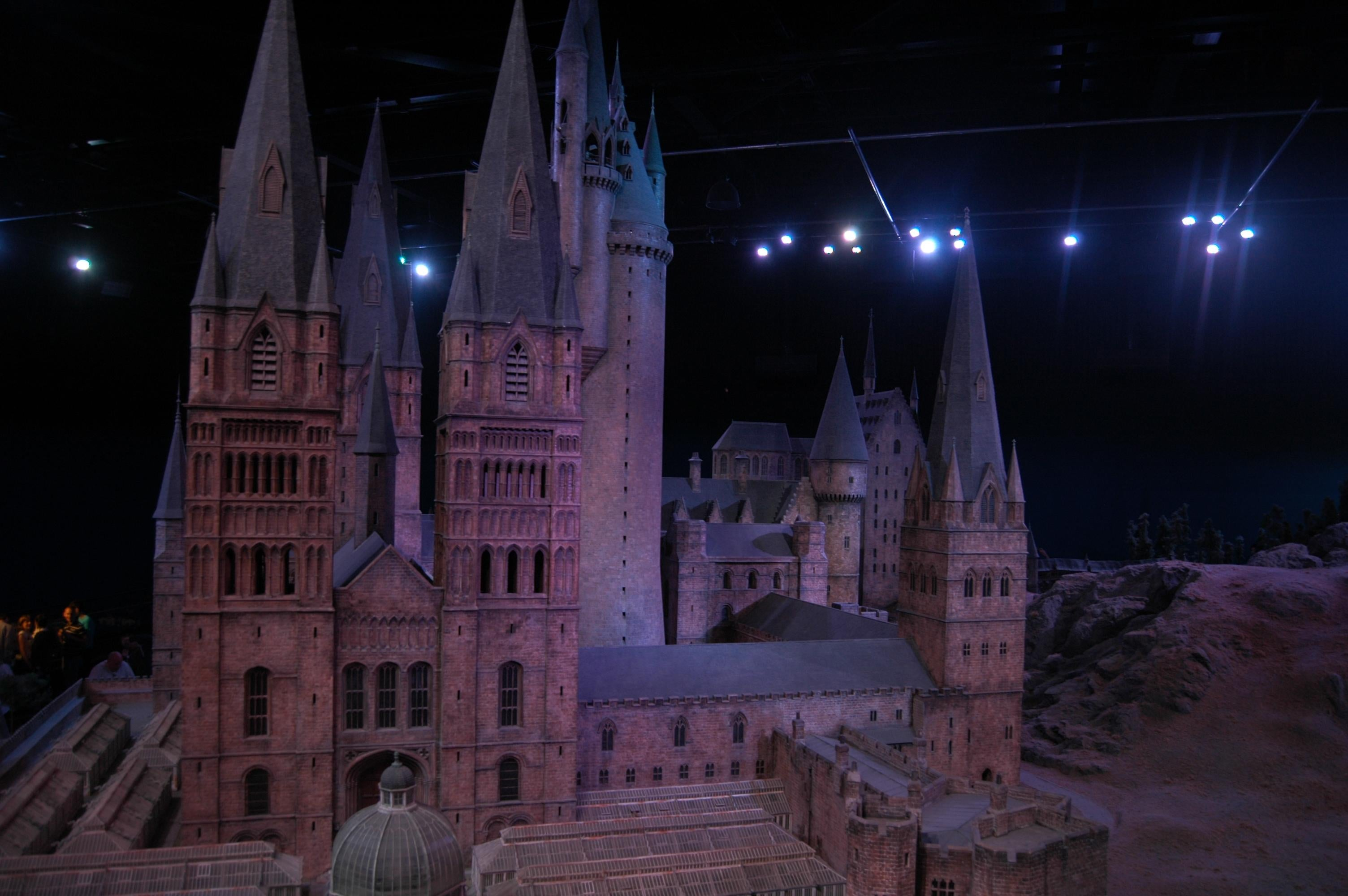 Oscuridad en The Making of Harry Potter