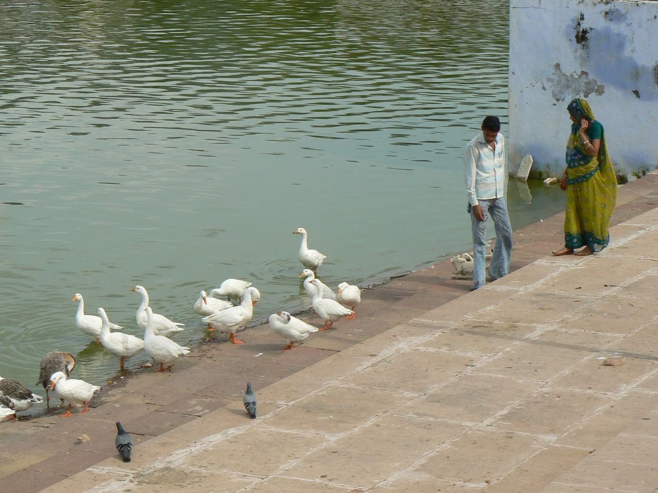 Sacred Lake of Pushkar