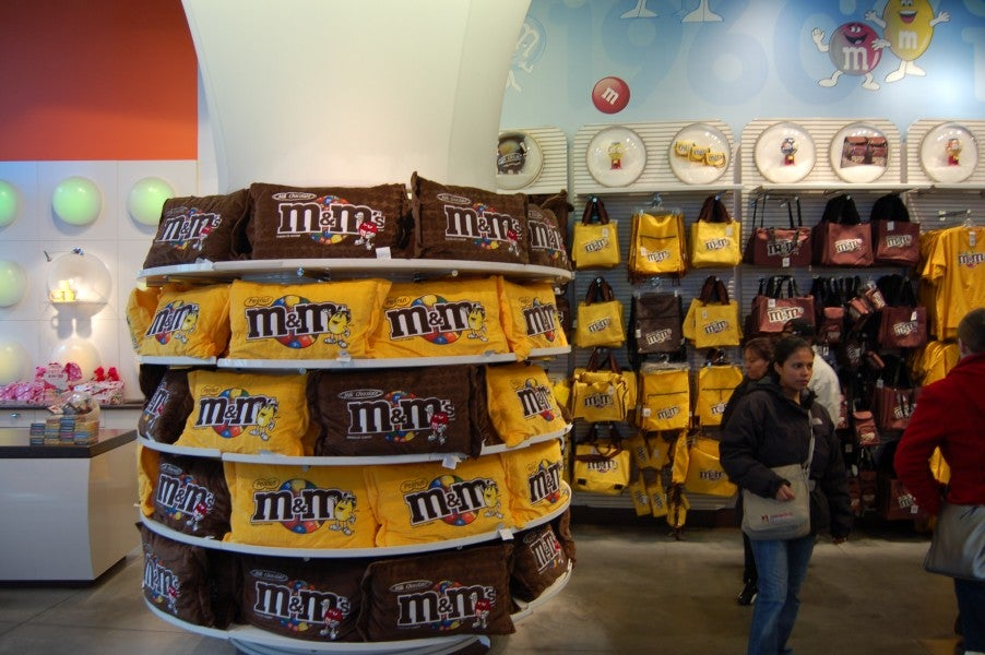 Amarillo en M&M'S World