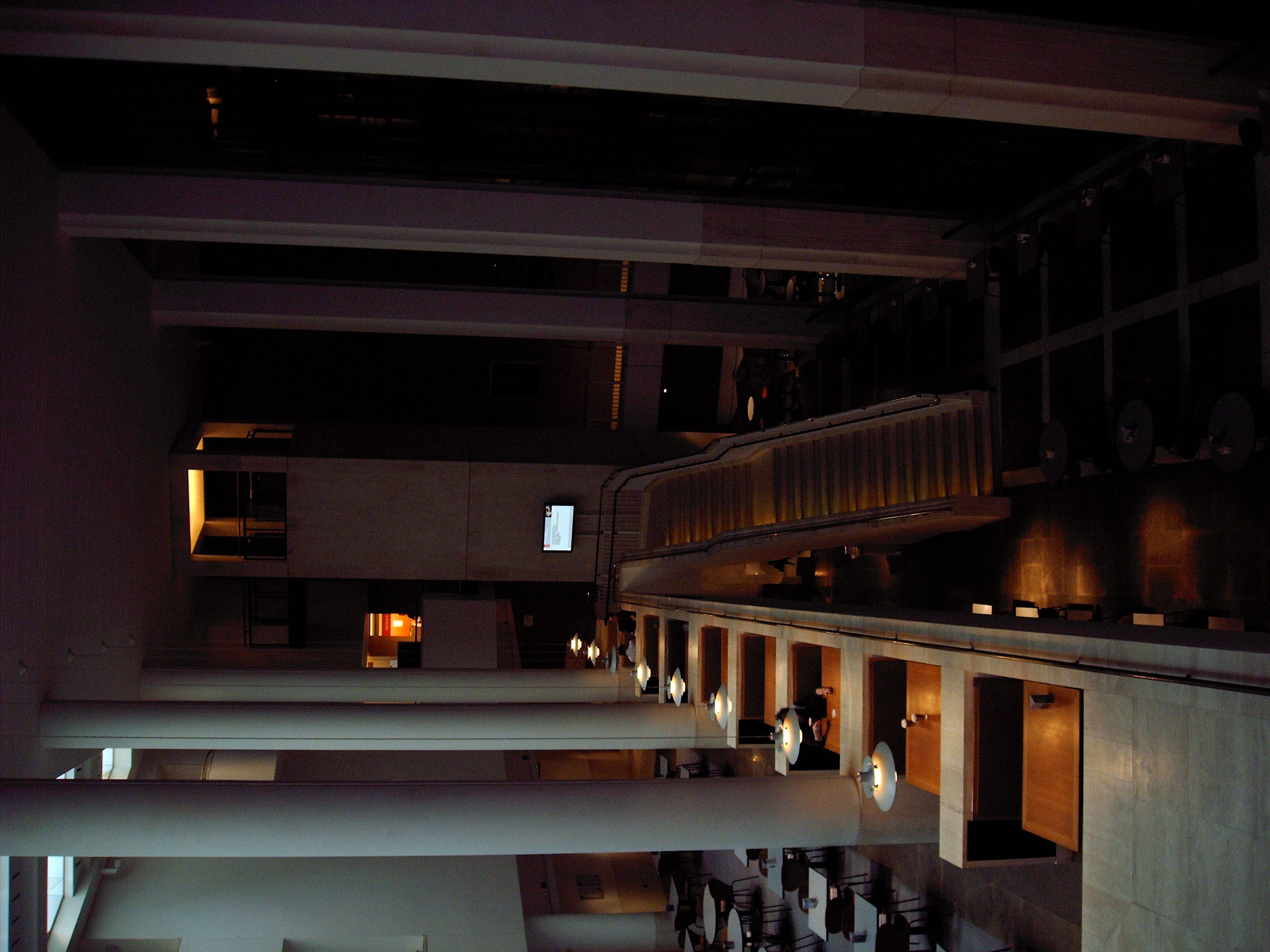 Restaurante en British Library