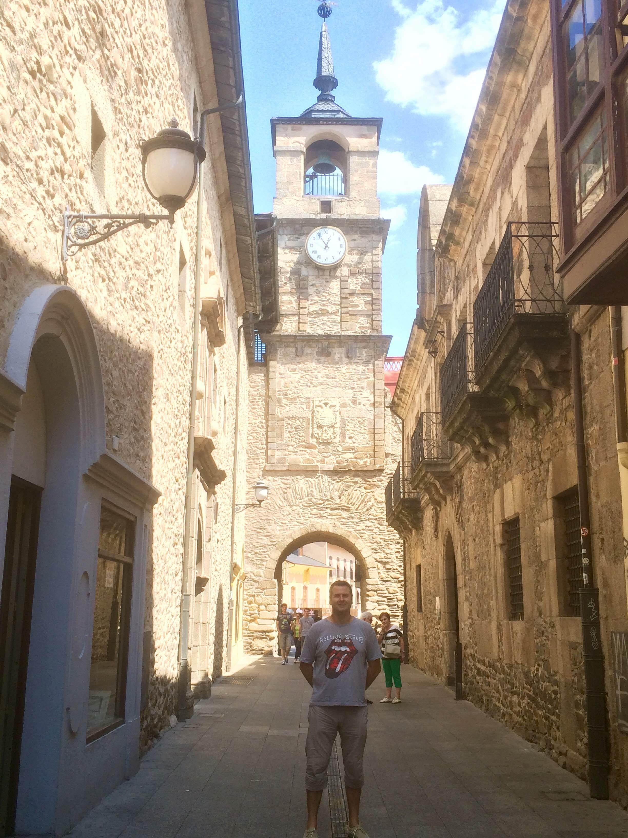 Calle en Plaza Mayor de Ponferrada