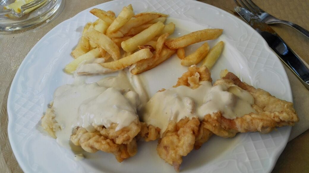 Fish and chips en Restaurante El Abuelo