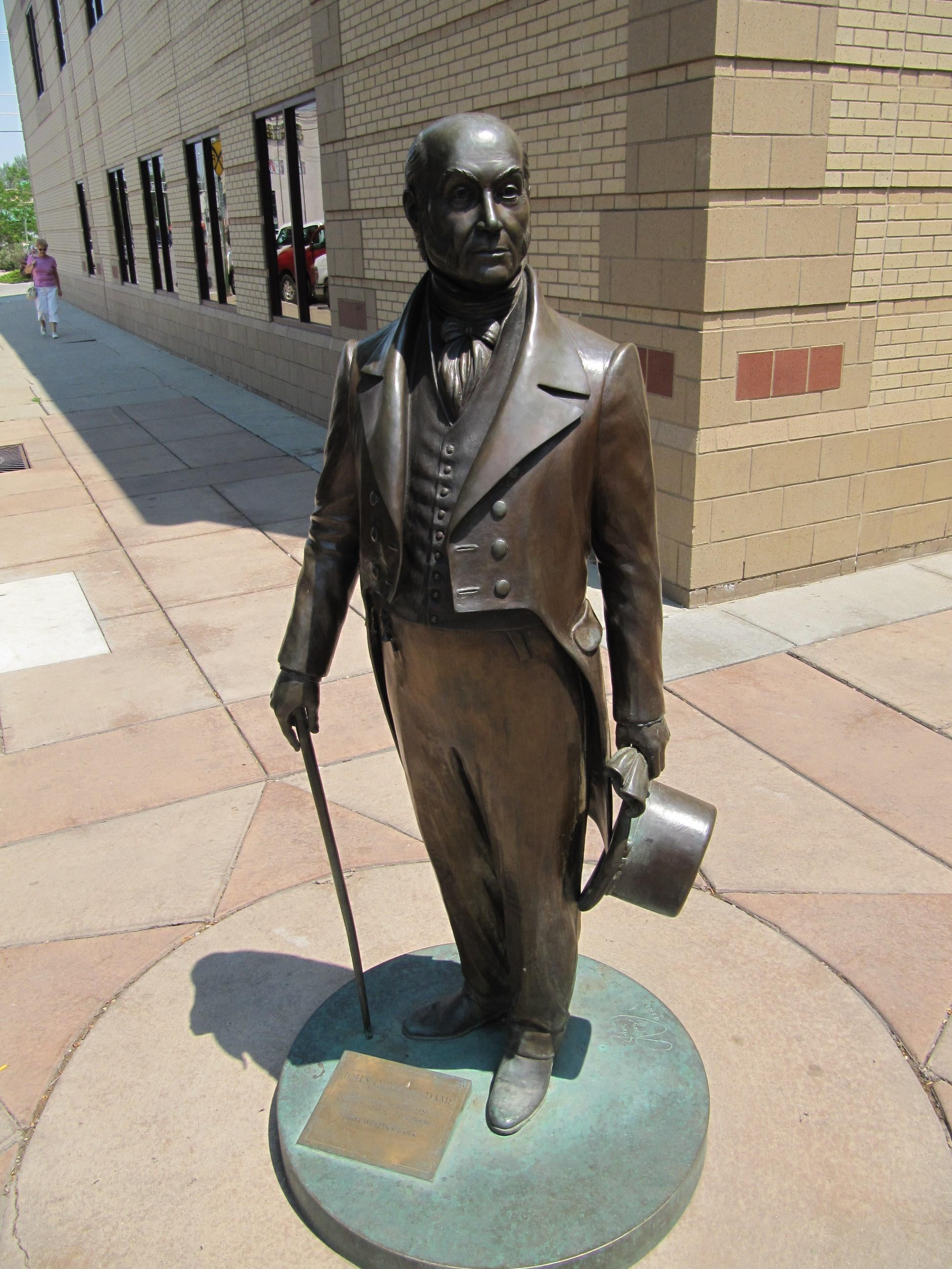 Statue of John Quincy Adams
