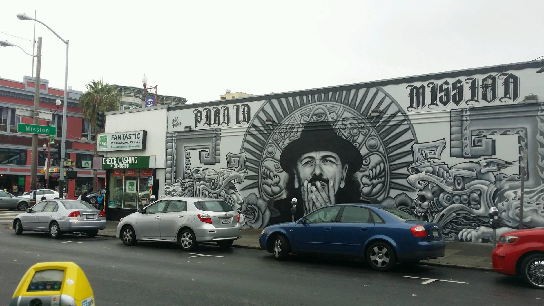 Mural en Mission District