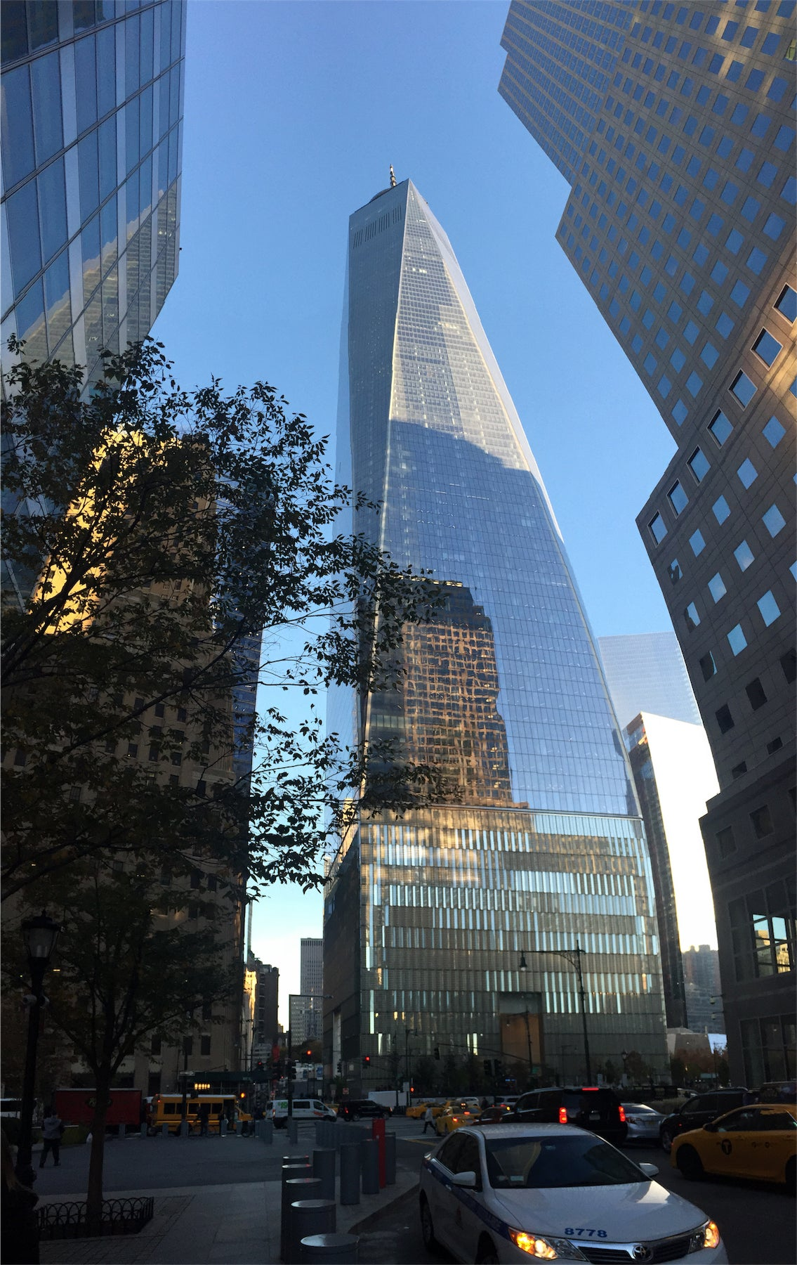 Emblemático en One World Trade Center
