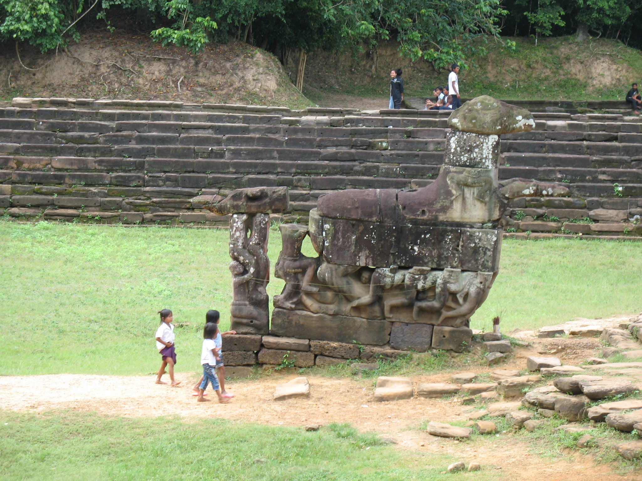Pared en Preah Neak Pean