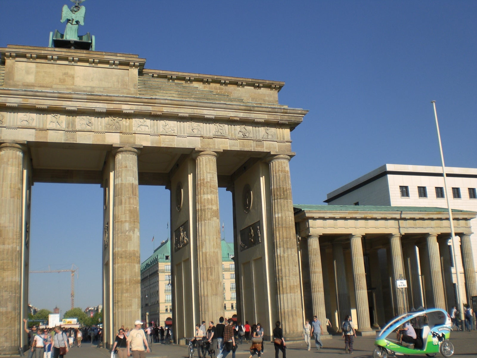 Roman Temple in Brandenburg Gate