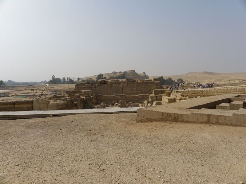 Stone Tombs and Mastabas
