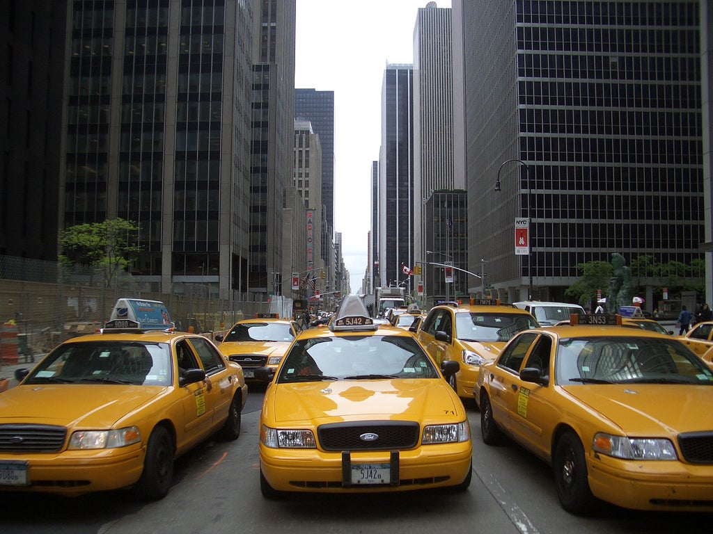 Amarillo en Manhattan