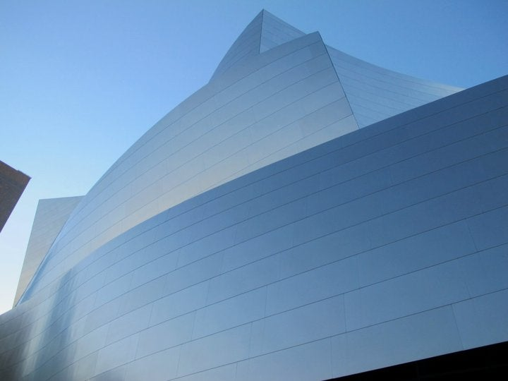 Blanco en Walt Disney concert hall