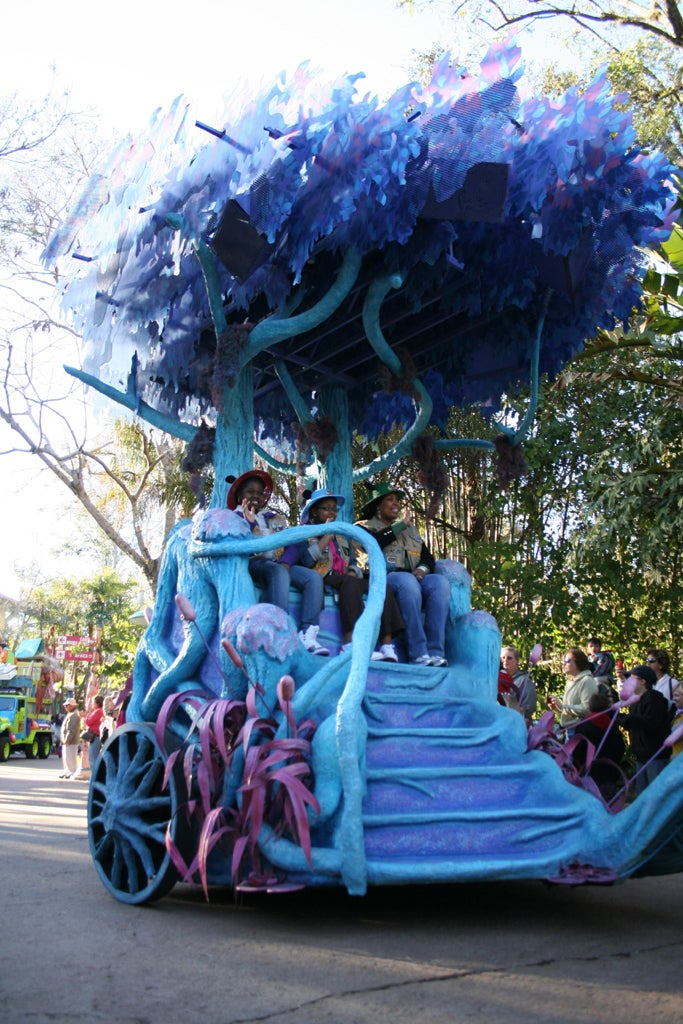 Azul en Disney Animal Kingdom